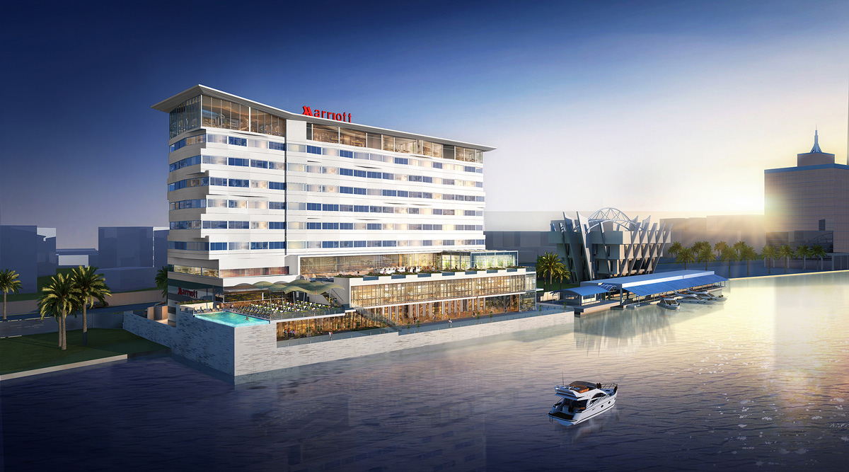 G1 Architecture Lagos Waterfront Hotel